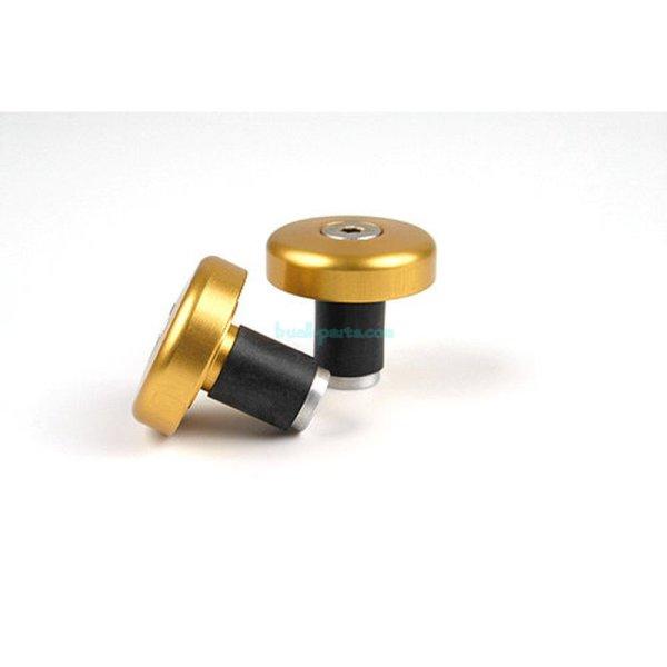 Barend-weight Flat-Cap, pair Aluminium anodized blue LSL for 14mm