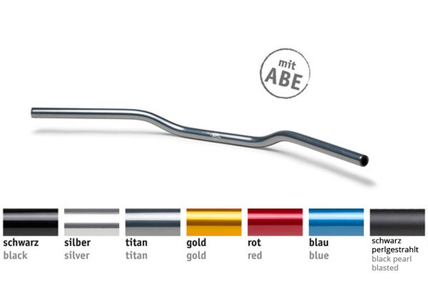 LSL Lenker Superbike Flat AN1, Aluminium