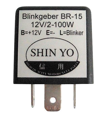Shin Yo Blinkrelais 12 V 1W bis 100W