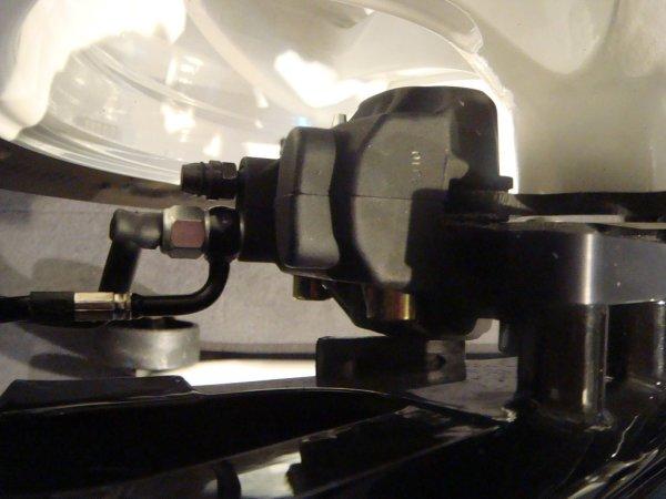 Bremslichtschalter abgewinkelt für versteckte Bremse M10 x 1.0