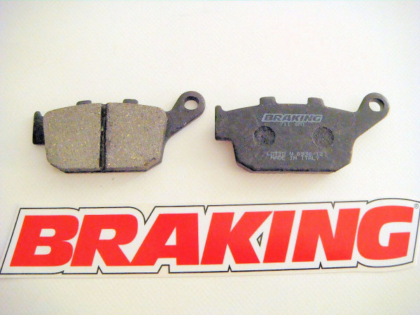 Organic brake pads for all Buell XB models and tubeframes