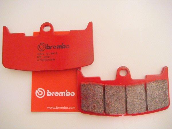 Brembo Bremsbeläge Buell XB mit ZTL 1 alle