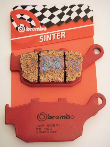 Brembo rear brake pad for all Buell XB and tubeframes up on 1998
