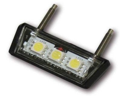 Mini LED-Nummernschildbeleuchtun, schwarz