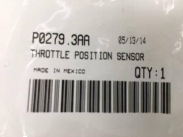 TPS Drosselklappen-Sensor nur XB MJ 2007