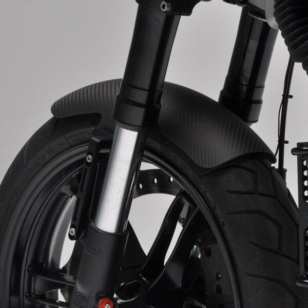 Carbon fiber front fender for Buell XB