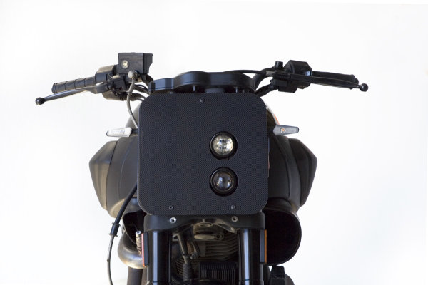 Carbon fiber front mask for Buell XB