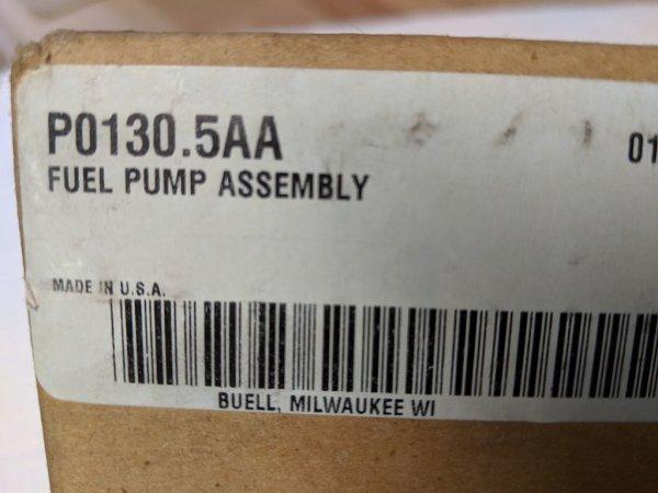 Benzinpumpe, Buell XB9/12, 08-09