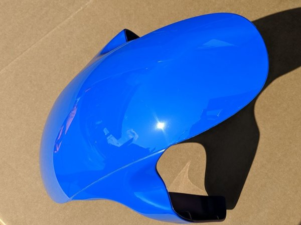 Frontfender, battle blue
