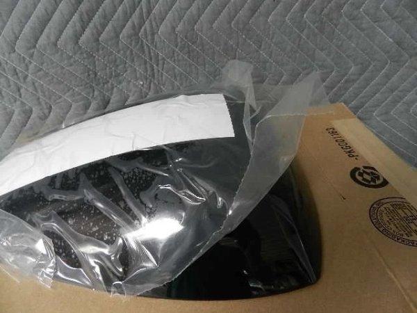 OEM Soziusabdeckung, Firebold und 1125R/CR, schwarz