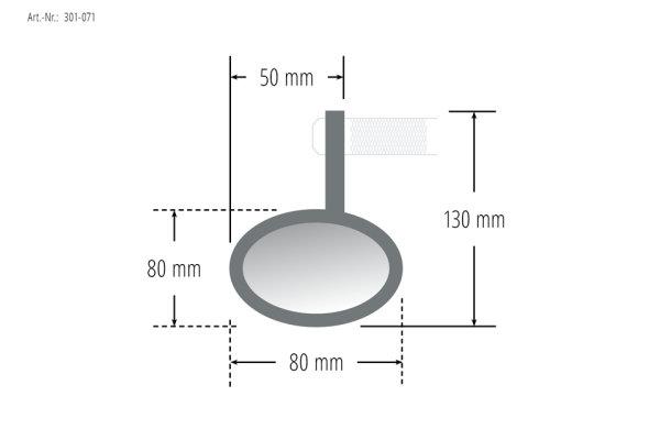 Lenkerendenspiegel, 2 Stück