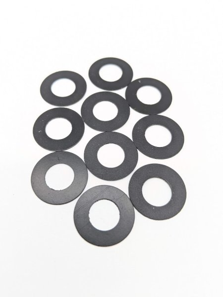 Kunststoffscheiben für Verkleidungschrauben, 10 Stk.